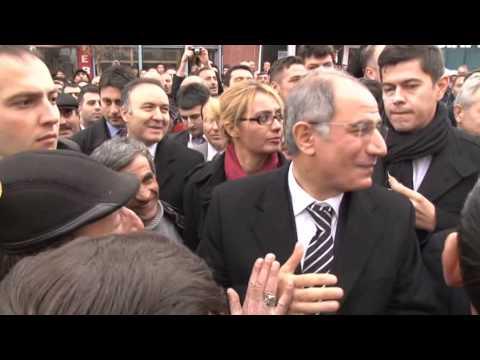 Bakan Ala'ya Erzurum Narman'da protesto şoku