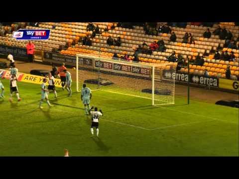Highlights: Port Vale vs Coventry