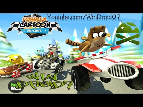 Formula Cartoon All-Stars Para Android