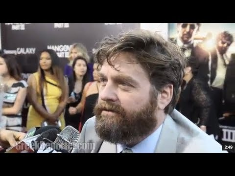 Hangover 3 Red Carpet Arrivals & Interviews