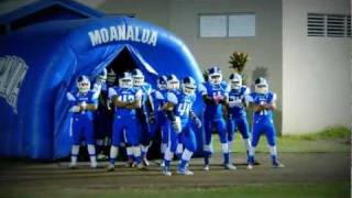 Moanalua High School Football Varsity Entrance 2011