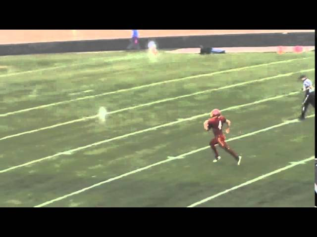 11-1-14 - Kyle Rosenbrock runs it from 77 yards out (Brush 40, Moffat County 7)