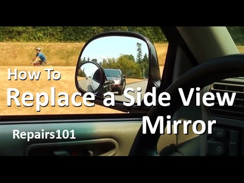 How to Replace a Side View Mirror 1996 Chevy Blazer