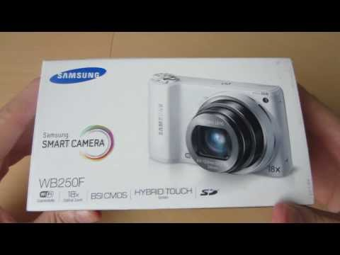 Samsung WB250F Smart Camera Unboxing- Amos Reviews