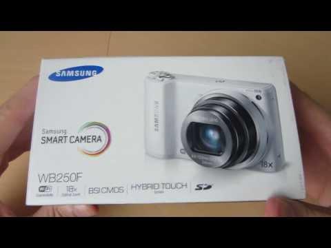 Samsung WB250F Smart Camera Unboxing- Amos Reviews