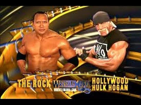 WWF Wrestlemania X8: The Rock vs Hulk Hogan (FULL MATCH)