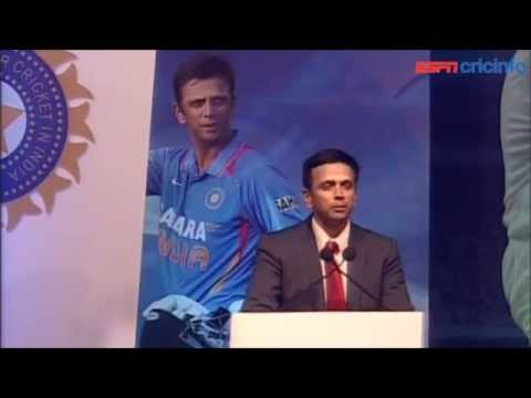 Rahul Dravid felicitation speech | ESPNcricinfo