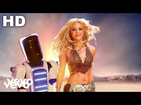 Shakira - Whenever, Wherever Music Videos