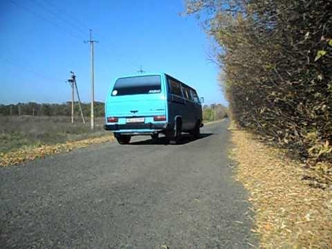 Volkswagen Transporter T3 1.9   0-100km\h
