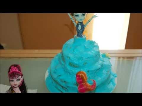 Gâteau Monster High pour mon Anniversaire !