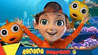 Baby Shark | +More Nursery Rhymes & Kids Songs - Banana Cartoon