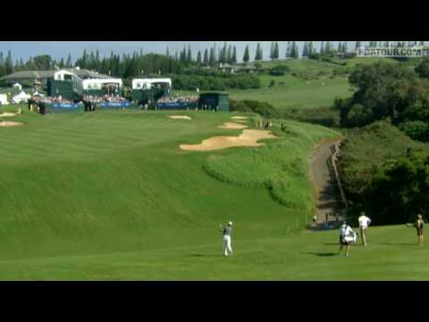 Shot of the Day: Davis Love III at Kapalua