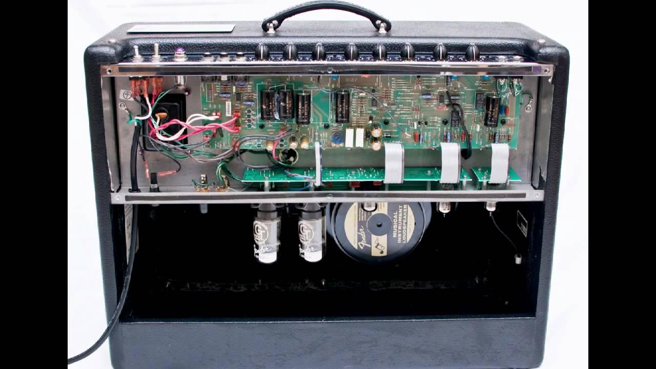Fender Hot Rod Deluxe Schematic '96 Hot Rod Deluxe With Fromel