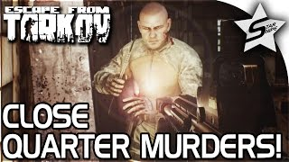 CLOSE QUARTER MURDERS, The Betrayal... - Escape From Tarkov Gameplay - Factory Customs Raid w/ Royal