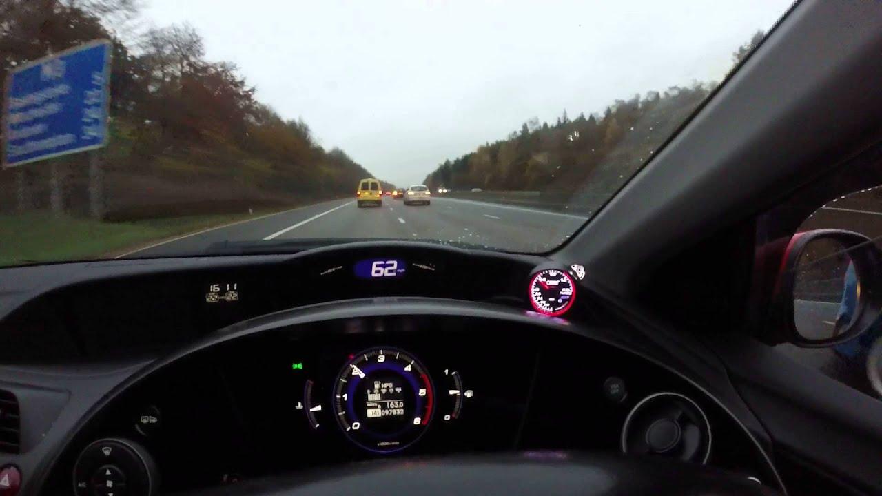 Prosport Turbo Boost Gauge Test  Honda Civic 2 2 Diesel