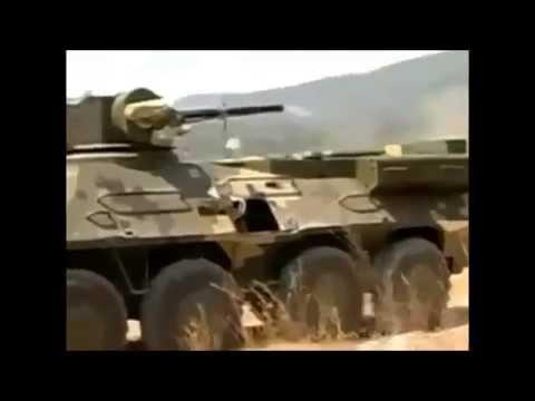 Украинский БТР 3Е в полевых условиях Таиланда.Ukrainian BTR 3E