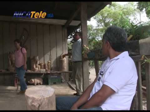 NICATELE USA EN LA COMUNIDAD LA GARNACHA EN ESTELÍ - NICARAGUA.