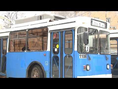 Троллейбусы из Москвы в Рязани