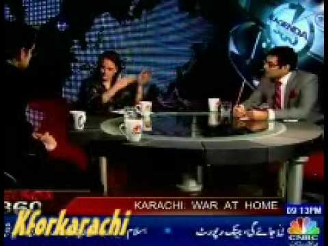 Karachi Gulshan-e-Iqbal Editor Financial Post revealing Some fact about Grabbing by ANP