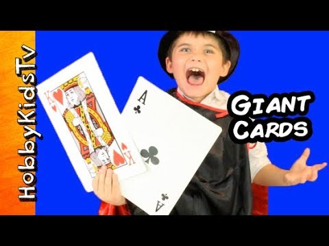 Biggest giant card game play go fish w hobbypig for Play go fish online