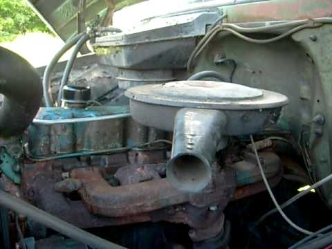 1966 Chevy 250 Inline 6 Start Up