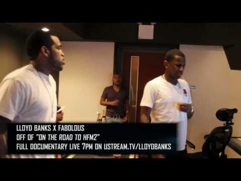 Lloyd Banks Start It Up Behind The Scenes - Off On The Road To HFM2