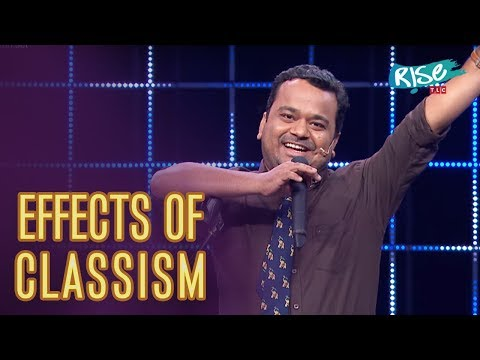 Who Created Classism - Middle Class vs Rich People  Kumar Varun Standup Comedy  Rise by TLC