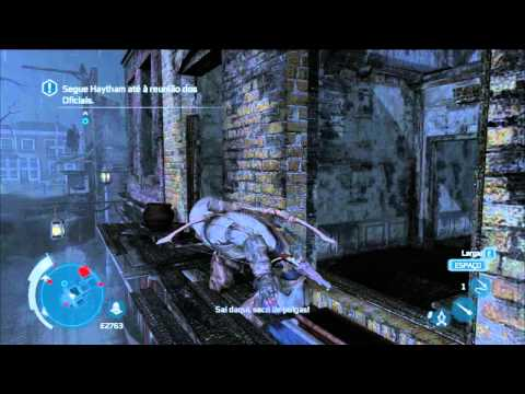Assassin\'s Creed 3 Bugzinho escroto