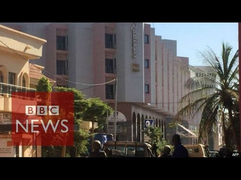 Mali hotel attack: '170 hostages seized' in Bamako - BBC News