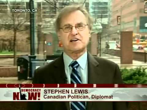 Stephen Lewis Comments on Canadian Election Results & NDP Gains (Democracy Now!) Part 2 of 2