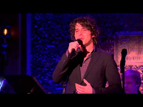 Rosser and Sohne at 54 Below: Josh Young sings Into Your Hands