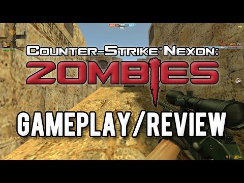 Counter Strike Nexon: Zombies Official Gameplay / Review!