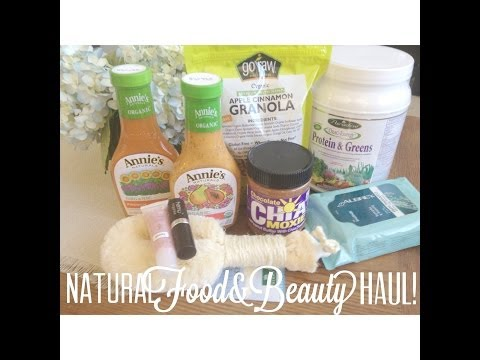 Big Natural Beauty Haul! [iherb, Silk Naturals, 100% Pure & Vitamin Shoppe] | Ashweebunn video