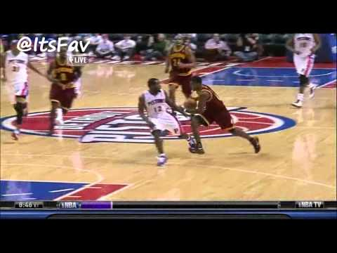 Kyrie Irving Full Highlights vs Detroit (12/16/11)