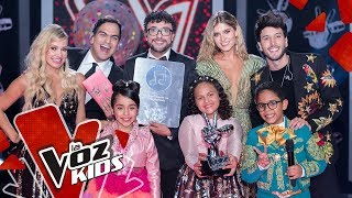 Así agradecen Anabelle y Andrés Cepeda por la votación | La Voz Kids Colombia 2019