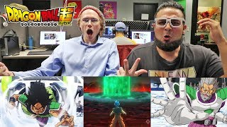 BROLY VS GOKU VS FRIEZA! REACTING TO Dragon Ball Super: Broly Movie Trailer (English Dub)