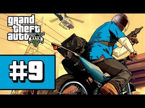 Grand Theft Auto V - Gameplay Walkthrough - Part 9 Daddy's Little Girl