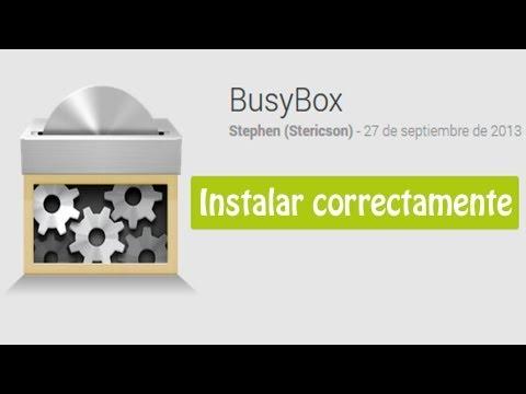 Busybox Tutorial instalar correctamente en Android - Sirve para Swapper. Seeder. terminal. etc.