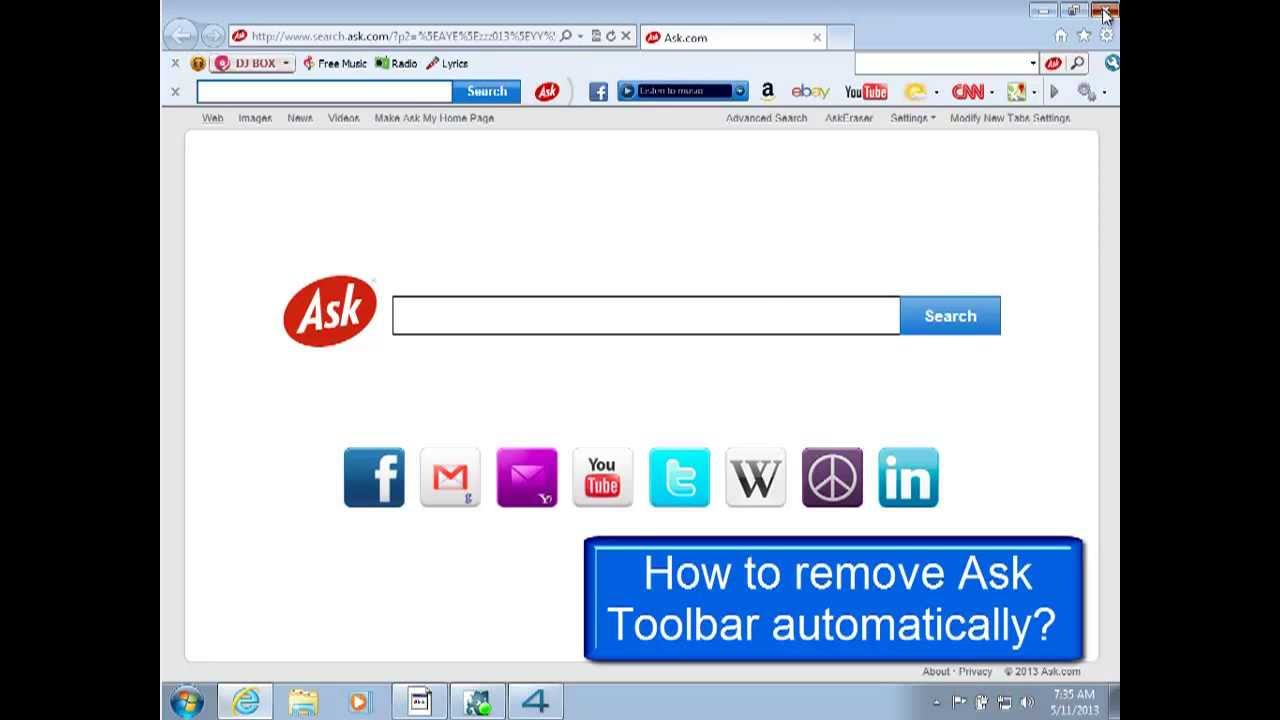 Remove Ask Toolbar   100% Safe and Easy How-to Guide
