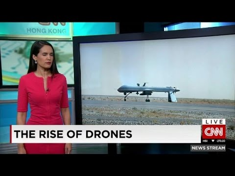 How did drone technology take off?