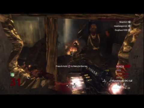 Call of Duty: World at War Nazi Zombies Der Riese 4-Player Strategy (Rounds 30-31)