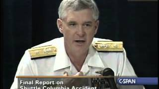 Columbia Accident Investigation Board Report Press Briefing, August 26, 2003
