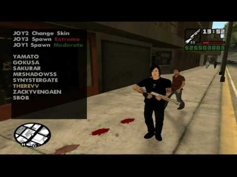 How to Install Skins and the Street Sex Cleo Mod in GTA San Andreas