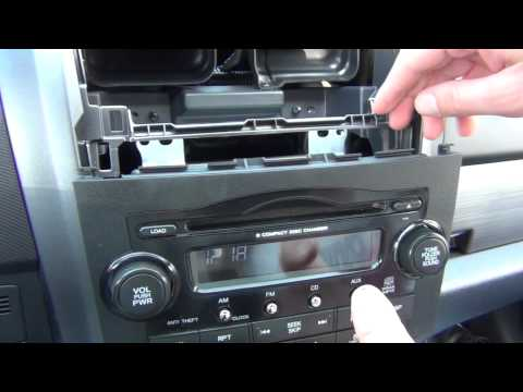 GTA Car Kits - Honda CR-V 2007-2011 install of iPhone. iPod and AUX adapter for factory stereo