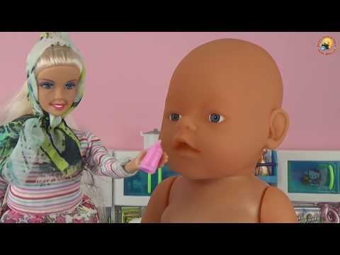 Мультик Маша и бабушка Куклы Штеффи, Барби Пупсы и пупсики Игры для девочек / Play Toys Baby