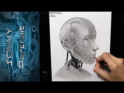 Sonny (I, Robot) - Drawing
