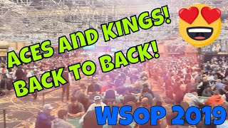 KINGS and ACES back to back in the largest tournament in HISTORY!