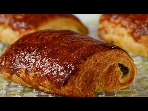 Chocolate Croissants Recipe Demonstration - Joyofbaking.com