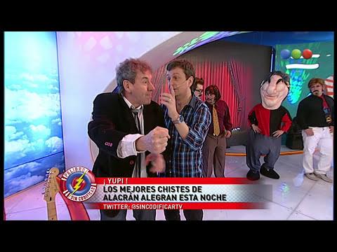 Alacrán en Los reyes del stand up: