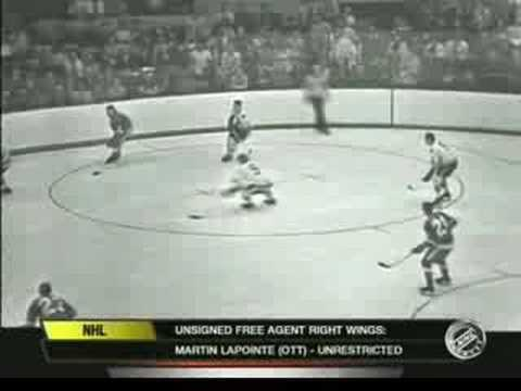 Bobby Hull incredible speed Video